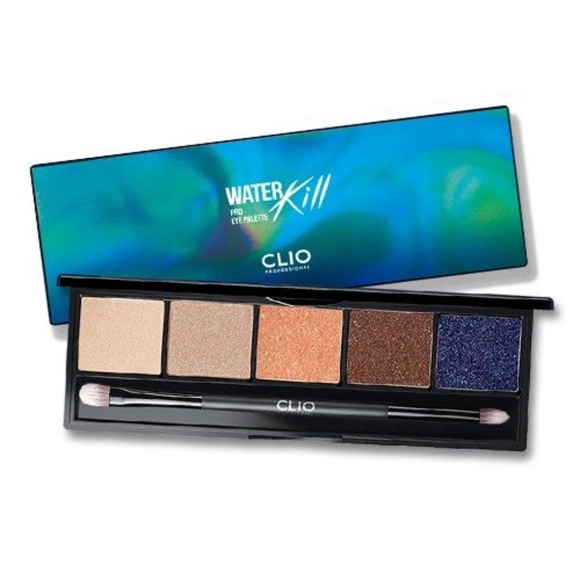 Club Clio Water Kill Pro Eye Shadow Palette NWT